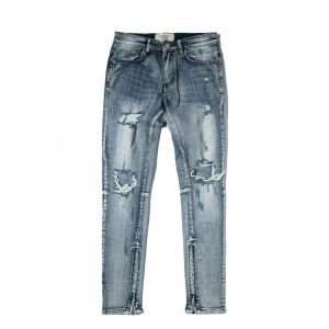90's Mens Old Style Vintage Ripped Jeans