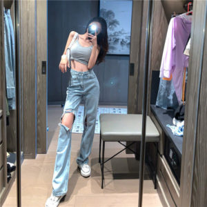 Long Relaxed Loose Baggy Jeans